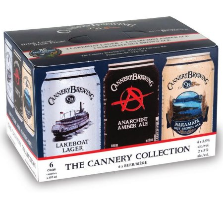 Cannery Brewing Changes Line-Up in Cannery Collection Mixed Pack