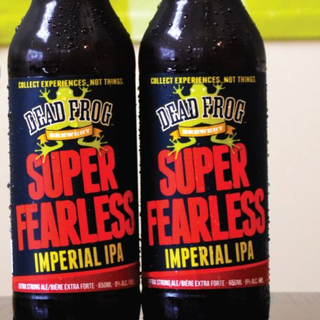 Dead Frog Releases Limited Super Fearless Imperial IPA