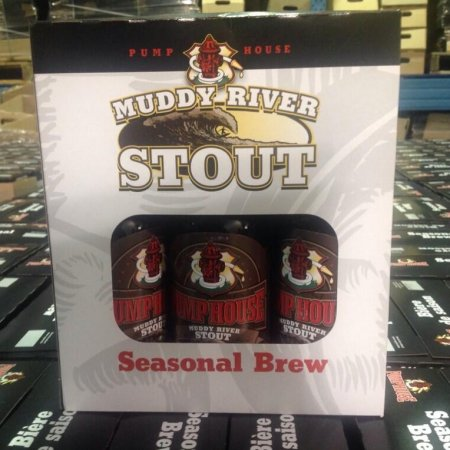 Pump House Muddy River Stout Now Available in Bottles