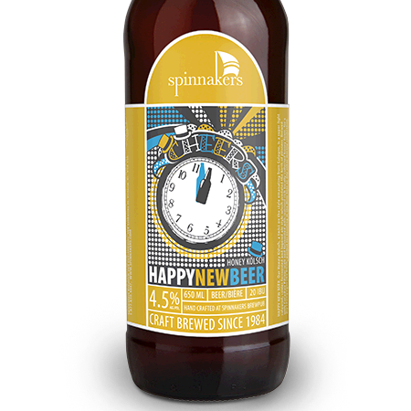 Spinnakers Happy New Beer Honey Kölsch Coming Soon