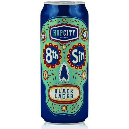 Hop City 8th Sin Black Lager Now Available in Cans