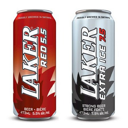 Brick Extends Laker Tall Can Line-Up With Red & Extra Ice