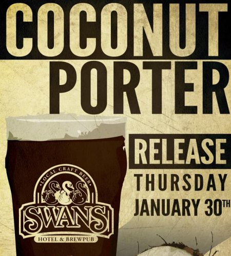 Swans Coconut Porter Returning This Week