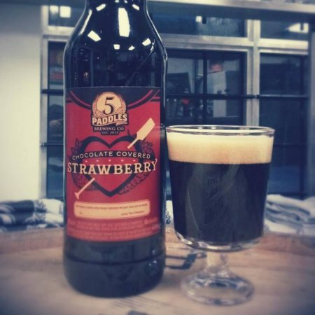 5 Paddles Brewing Marks Valentine's Day With Chocolate Covered Strawberry Stout
