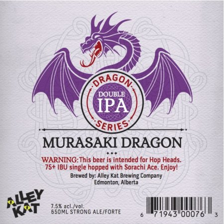 Alley Kat Releases Murasaki Dragon & Announces Capacity Expansion