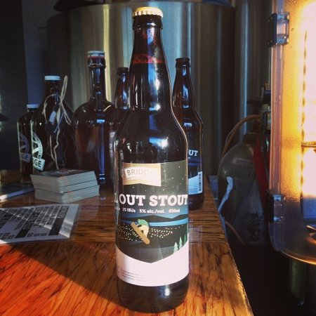 Bridge Brewing All Out Stout Now Available in Bottles