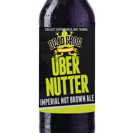 Dead Frog Uber Nutter Imperial Nut Brown Ale Now Available