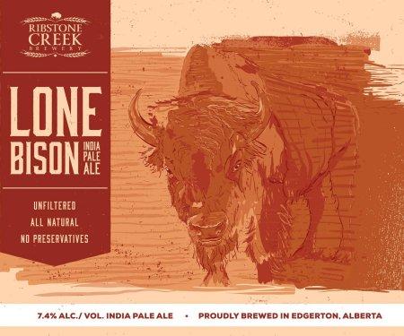 Ribstone Creek Announces Lone Bison IPA