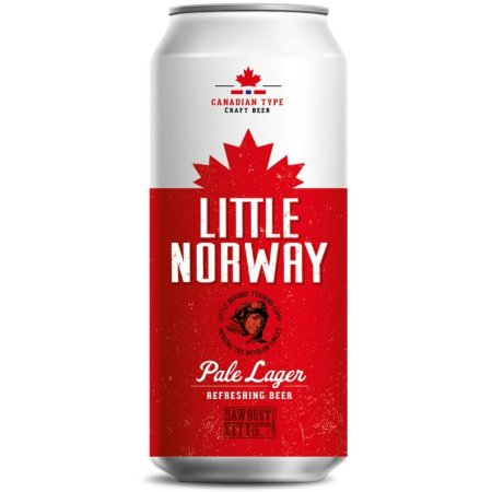 Sawdust City Little Norway Pale Lager Coming Soon – But Only in Norway