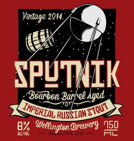Wellington Continues Welly One Off Series With Sputnik Barrel Aged Stout