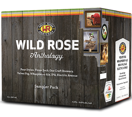 Wild Rose Launches New Branding, New Beers & New Mixed Pack