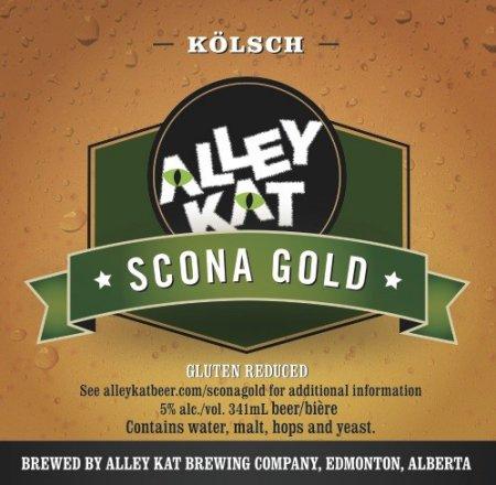 Alley Kat Reviving Scona Gold Name for New Gulten-Reduced Kölsch