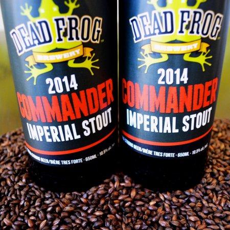 Dead Frog Brings Back Commander Imperial Stout for 2014
