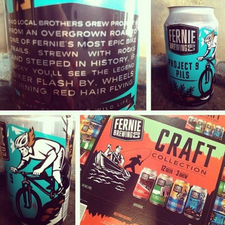 Fernie Brewing Releases Project 9 Pils & New Craft Collection Pack