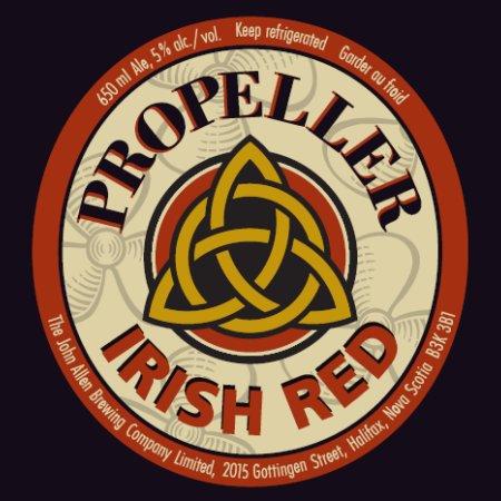 Propeller Irish Red Ale Announced as New Seasonal Release