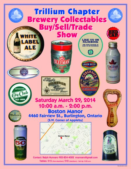 Trillium Brewery Collectables Show Taking Place Next Weekend in Burlington