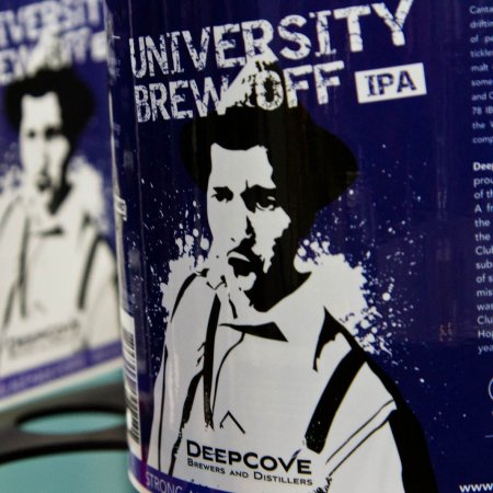 Deep Cove & Hops Connect Cup Winners Release University Brew Off IPA