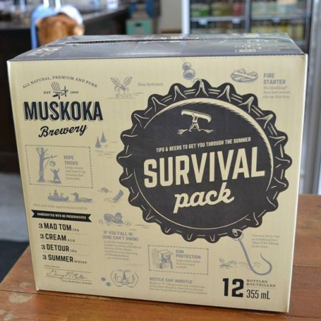 Muskoka Brewery Releasing New Edition of Survival Pack