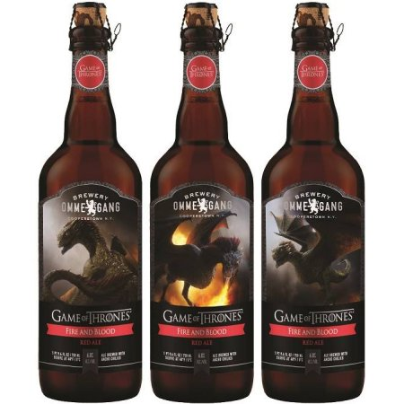 Ommegang Game of Thrones Fire & Blood Red Ale to be Available in Canada Soon