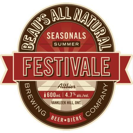 Beau's Festivale Altbier Summer Seasonal Returning Today