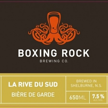 Boxing Rock Releasing La Rive du Sud Bière de Garde This Weekend