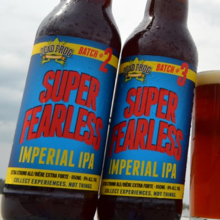 Dead Frog Brings Back Super Fearless Imperial IPA in Two Versions