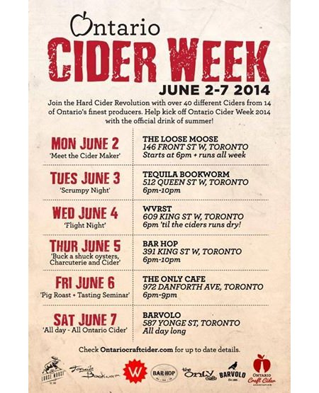 ontariociderweek_2014_schedule