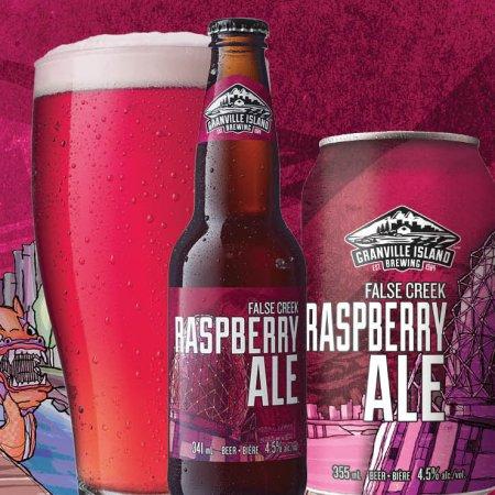 Granville Island False Creek Raspberry Ale Returns for Summer