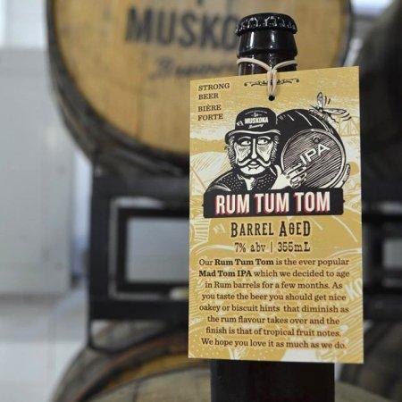 Muskoka Barrel Aged Series Continues With Rum Tum Tom IPA
