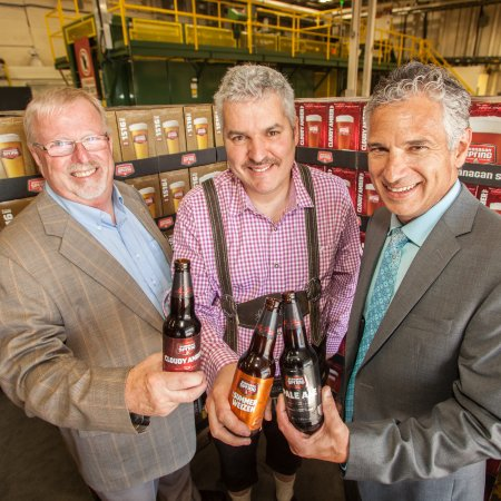 Sleeman Announces Expansion Plans for Okanagan Spring Brewery