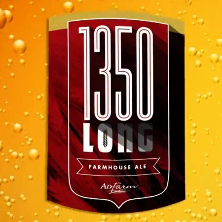 Olds College Brewery and AdFarm Collaborate on 1350 Long Farmhouse Ale