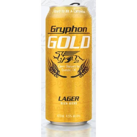 Wellington Marks University of Guelph 50th Anniversary with Gryphon Gold Lager
