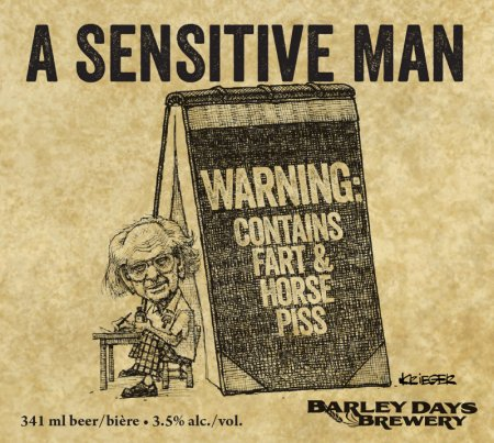 Barley Days Releases A Sensitive Man Ale to Support Al Purdy A-Frame Association