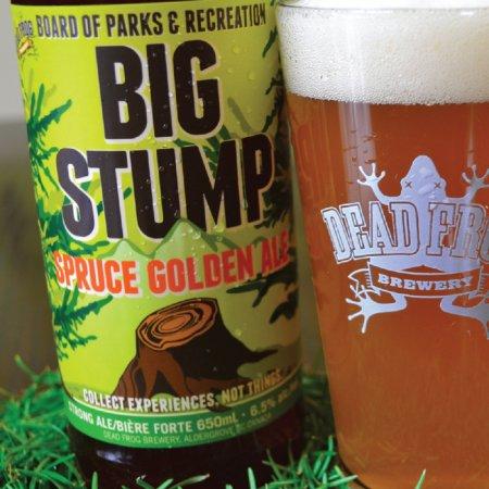 Dead Frog Releases Big Stump Spruce Golden Ale