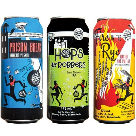 Double Trouble Brewing Brands Now Available in Newfoundland