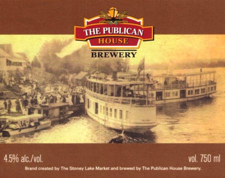 Publican House Stoney Lake Craft Ale Named CCBA 2013 Label of the Year