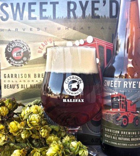 Garrison & Beau's Release Collaborative Sweet Rye'd Harvest Wheat Ale