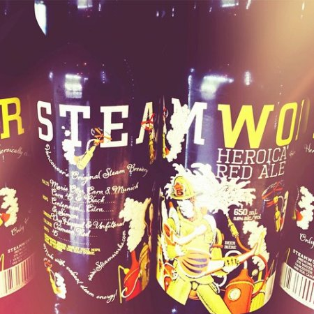 Steamworks Releases Heroica Red Ale Benefit Beer