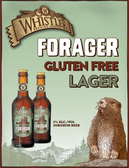 Whistler Forager Gluten Free Lager Now Available