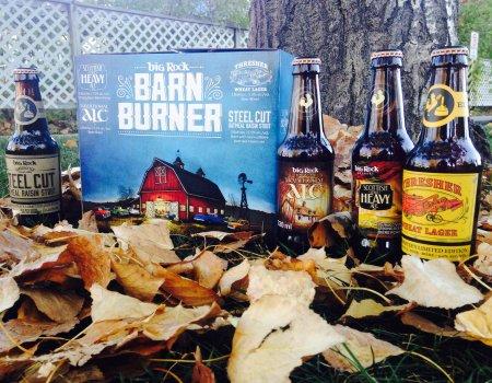 Big Rock Releases Barn Burner Seasonal Sampler Pack