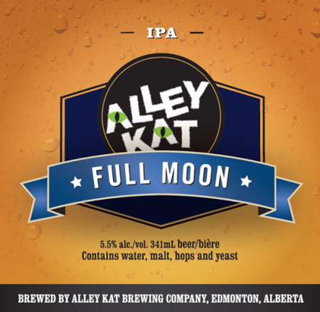 Alley Kat Reformulating & Relaunching Full Moon Pale Ale as Full Moon IPA