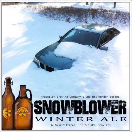 Propeller One Hit Wonder Series Continues with Snowblower Winter Ale