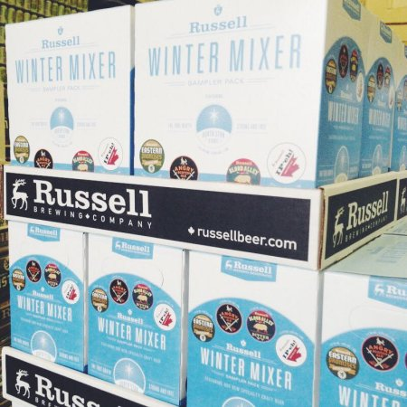 Russell Debuts North Star Stout in New Winter Mixer Pack