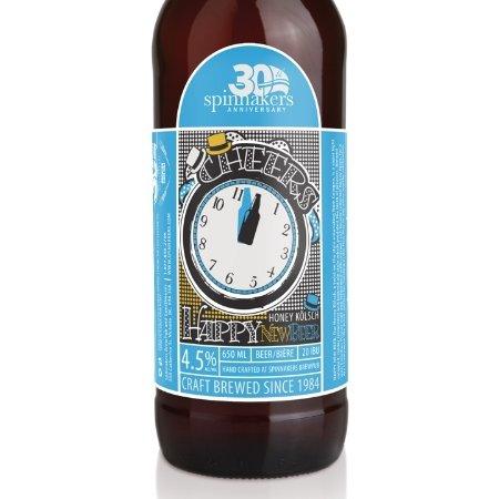 Spinnakers Happy New Beer Honey Kölsch Returns