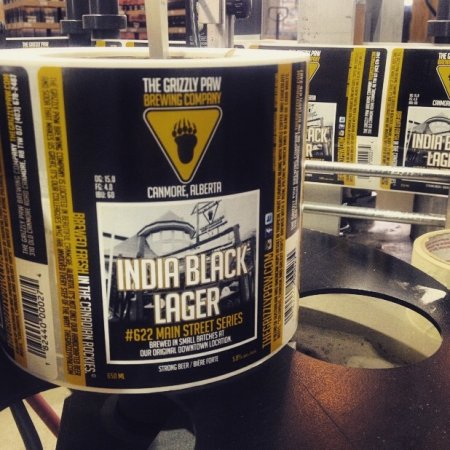 Grizzly Paw Continues 622 Main Street Series with India Black Lager