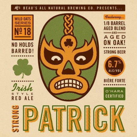Beau's Continues FeBREWary 2015 Series with Strong Patrick Red Ale