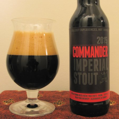 Dead Frog Commander Imperial Stout Returns for Third Year