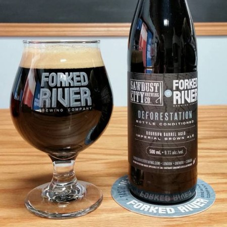 Forked River Releases Collaboration with Sawdust City