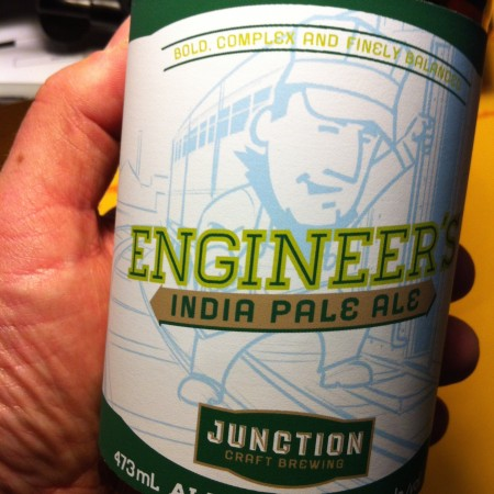 Junction Craft Engineer's IPA Coming to LCBO