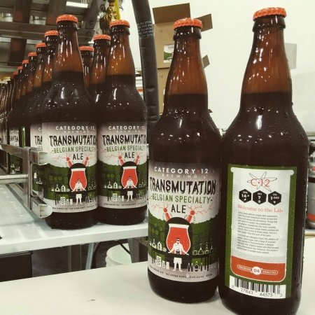 Category 12 Announces Return of Transmutation Belgian Specialty Ale